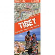 Tibet Tourist Map by terraQuest