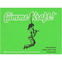 Gimme Kraft: Effective climbing training by Cafe Kraft