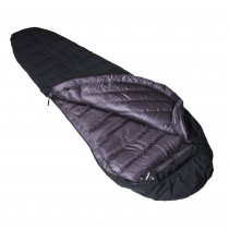 Crux Torpedo 350 Waterproof Down Sleeping Bag - Black/Anthracite