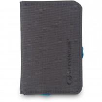 Lifeventure RFID Card Wallet Grey