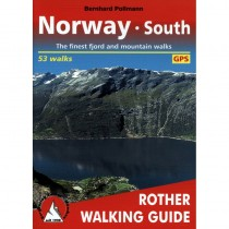 Norway South: 53 selected fjord and mountain walks by Bergverlag Rother