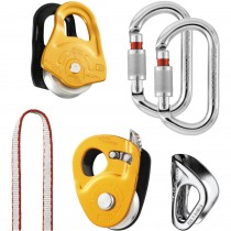 Petzl Crevasse Rescue Kit - Yellow/Aluminium