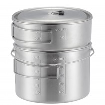 Solo Stove Two Pot Set Stainless Steel