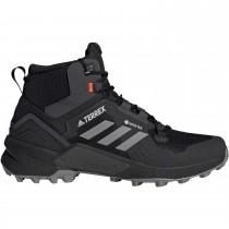 Adidas Terrex Swift R3 GTX Mid Hiking Shoe - Men's - Core Black/Grey Three/Solar Red