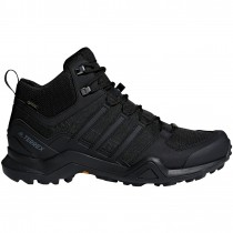 Adidas Terrex Swift R2 Mid GTX Men's Approach Shoe - Core Black