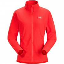 Arc'teryx Delta LT Women's Fleece Jacket - Hard Coral
