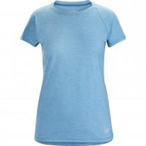 Arc'teryx Taema Crew SS - Women's Baselayer T-Shirt - Lumina Heather