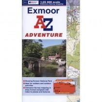 Exmoor A-Z Adventure Atlas by A-Z