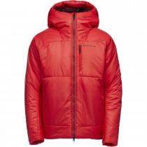 Black Diamond Belay Parka Insulated Jacket - Men's - Hyper Red
