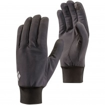 Black Diamond Lightweight Softshell Gloves - Smoke