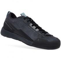 Black Diamond Technician Leather Approach Shoe - Women's - Asphalt/Goblin Blue