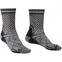 Bridgedale HIKE Ultra Light Performance Men's Socks - Black