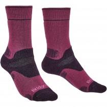 Bridgedale Hike Midweight Merino Endurance Women's Socks - Berry