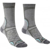 Bridgedale HIKE Ultra Light Performance Women's Socks - Dark Grey/Light Grey