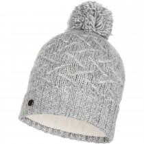 Buff Knitted & Polar Hat Ebba - Cloud