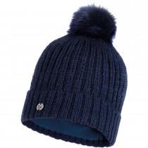 Buff Knitted & Polar Hat Katya - Night Blue