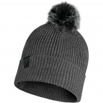 Buff Knitted Hat Kesha - Grey