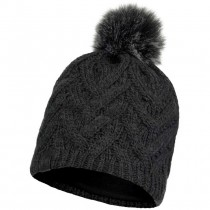 Buff Caryn Knitted and Fleece Hat