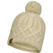 Buff Slay Knitted & Fleece Hat - Cru
