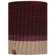 Buff Alina Knitted & Polar Fleece Neckwarmer - Maroon