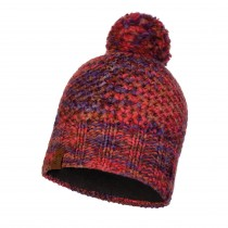 Buff Margo Knitted Hat - Maroon