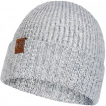 Buff Knitted Hat New Biorn - Light Grey