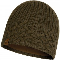 Buff New Helle Knitted Hat - Tundra Khaki