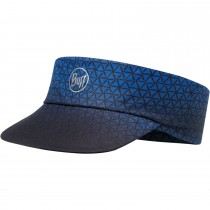 Buff Pack Run Reflective Visor - Equilateral Cape Blue