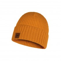Buff Rutger Knitted Hat - Ochre