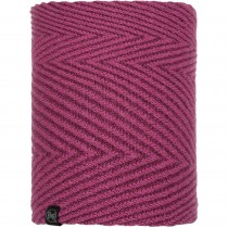 Buff Silja Knitted Neckwarmer - Purple