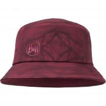 Buff Trek Bucket Hat - Calyx Dark Red