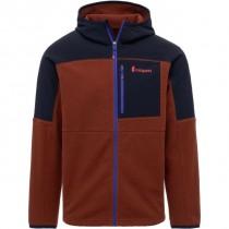 Cotopaxi Abrazo Hooded Full-Zip Fleece Jacket - Men's - Black & Rust