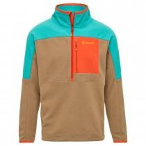 Dorado Half Zip Fleece Jacket - Mens - Lagoon/Desert