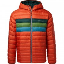 Cotopaxi Fuego Down Hooded Jacket - Men's - Cayenne Stripes