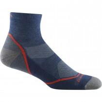 Darn Tough Light Hiker Quarter Lightweight Hiking Socks - Men's - Denim