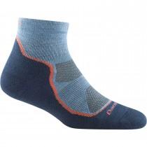 Darn Tough Light Hiker Quarter Lightweight Hiking Socks - Women's - Denim