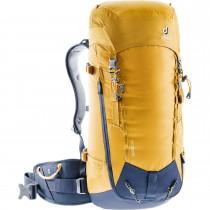 Deuter Guide 34+ Alpine Climbing Rucksack - Men's - Curry/Navy