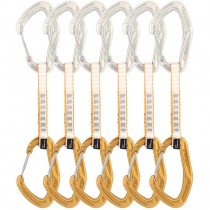 DMM Alpha Trad Quickdraw 6-Pack - 12cm - Silver/Gold