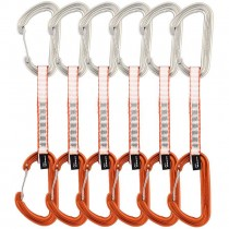 DMM Phantom Quickdraw 6 Pack - 12cm - SIlver/Orange