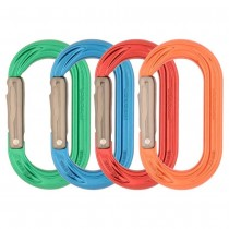 DMM PerfectO Straight Gate Oval Karabiner 4-Pack