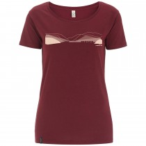 DMM Pass Women's T-Shirt Burgundy