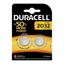 Duracell CR2032 Coin Cell Lithium Batteries - 2 pack