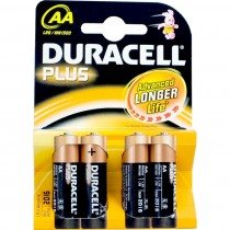 Duracell Plus AA Battery 4 Pack