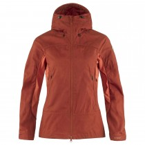 Fjallraven Abisko Lite Trekking Jacket - Womens - Cabin Red/Rowan Red