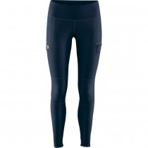 Fjallraven Abisko Trail Tights - Womens - Navy/Dark Navy