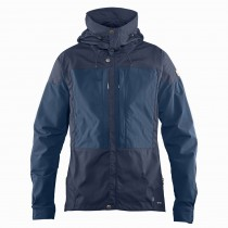 FJALLRAVEN - Keb Men's Jacket - Dark Navy/Uncle Blue