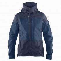 FJALLRAVEN - Keb Men's Jacket - Dark Navy/Uncle Blue