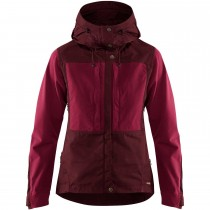 FJALLRAVEN - Keb Jacket - Women's - Dark Garnet/Plum