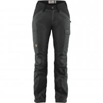 Fjällräven Kaipak Curved Trousers - Women's - Dark Grey/Black