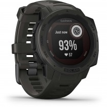 Garmin Instinct Solar GPS Watch - Graphite